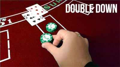 aturan-blackjack-double-down