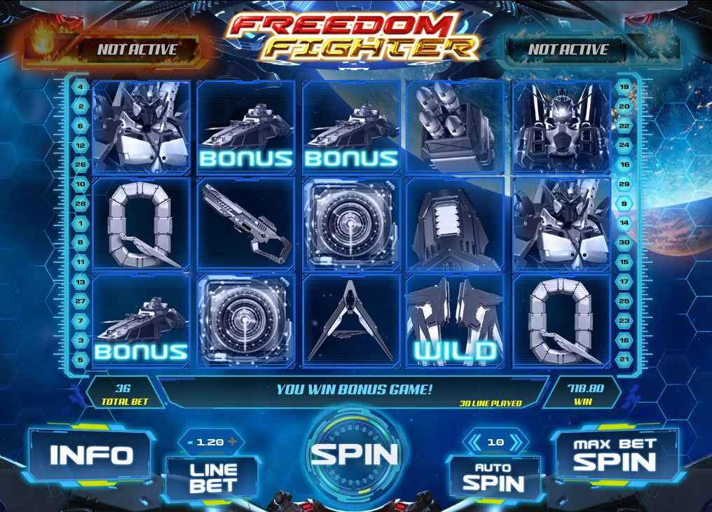 freedom fighter slot mesin