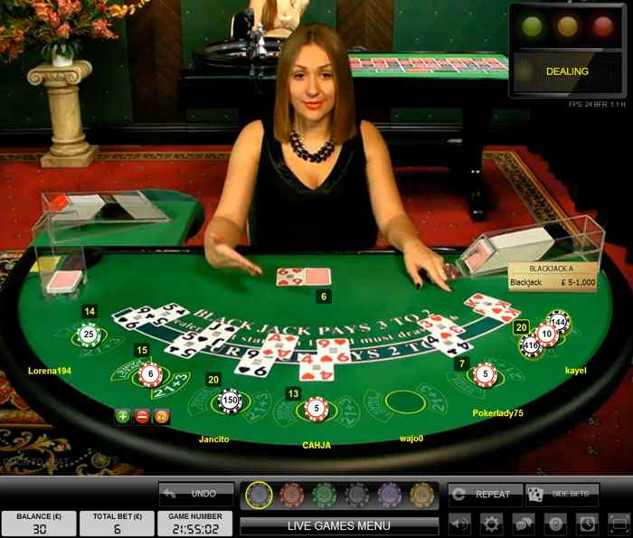 live blackjack sbobet casino